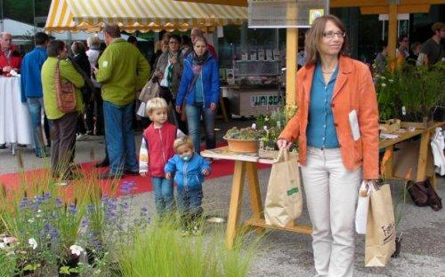 Besucherandrang beim Biofest am 15.9.2013