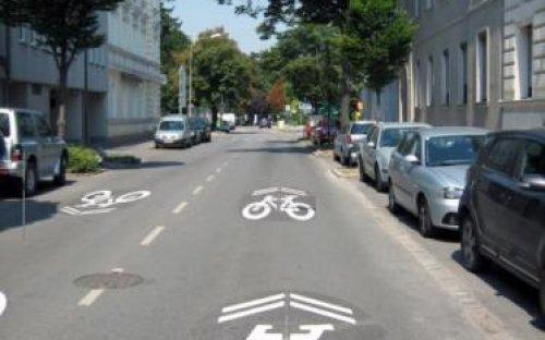 Sharrow - Beispiel aus Korneuburg