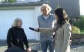 Noch ein Überfall - Interview vor Ort