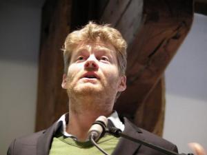 Christian Felber beim Wirtschaftskonzil Konstanz